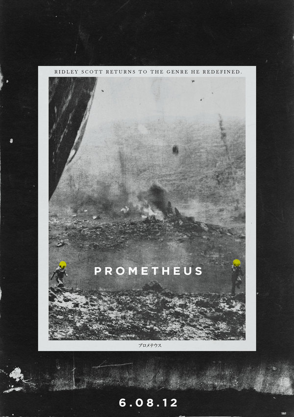 Check Out Some Awesome FanMade Retro PROMETHEUS Poster