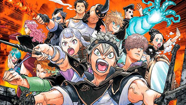 En que manga continua el anime Black Clover