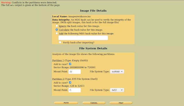 Details of image file
