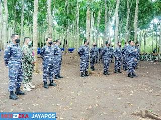 Kasal Bersama Pangkoarmada II  Kunjungi Puslatpur Purboyo Malang