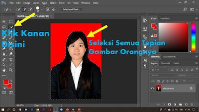 Cara Menghaluskan Tepian Seleksi Gambar