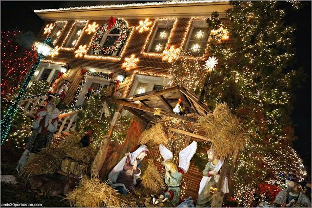 Decoraciones de Navidad de Dyker Heights en Brooklyn, Nueva York