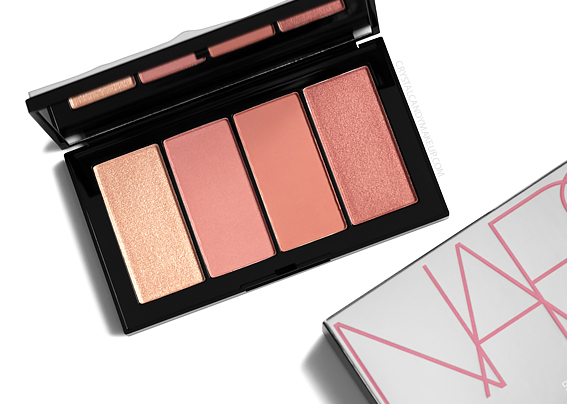 NARS Hot Fix Cheek Palette Cool Crush Collection Review Photos Swatches