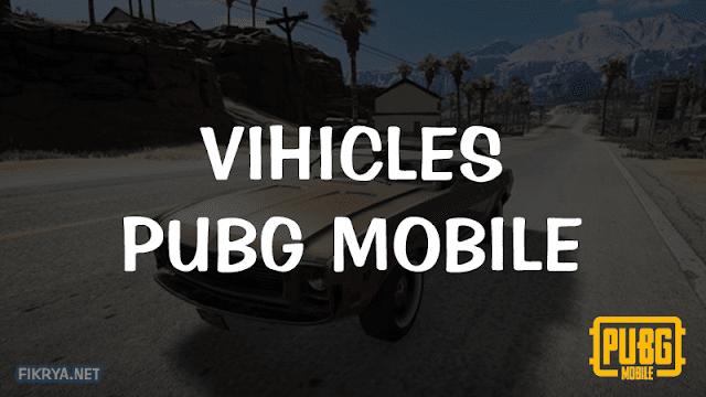 macam macam kendaraan terkuat pubg mobile