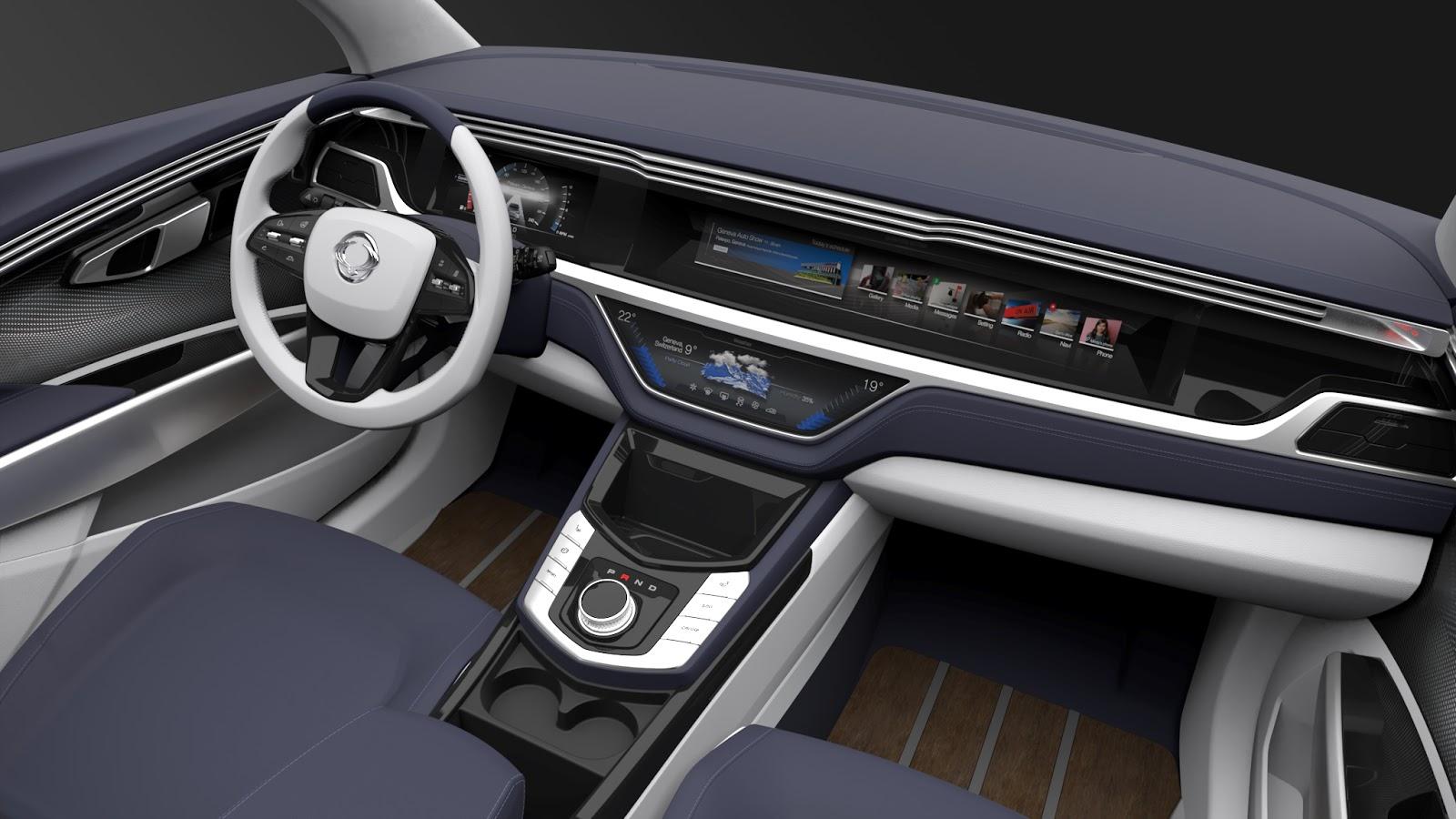 Interior%2B1 Η SSANGYONG παρουσιάζει ένα μεσαίο πολυχρηστικό SUV