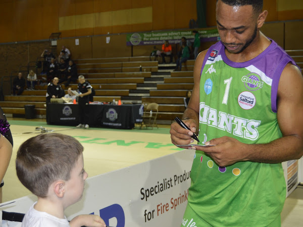 Manchester Giants Basketball Party