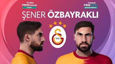 PES 2021 Faces Şener Özbayraklı by PES Football Turkey