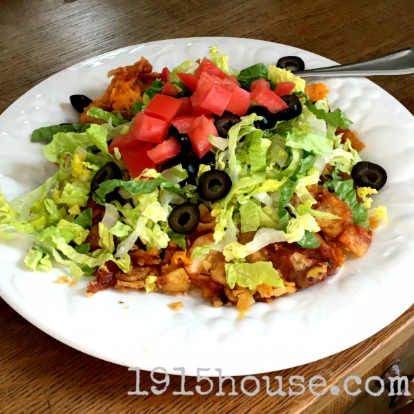 Chicken Taco Bake from 1915 House