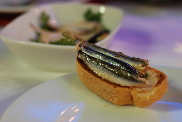 Anchovy is a Sustainable Seafood