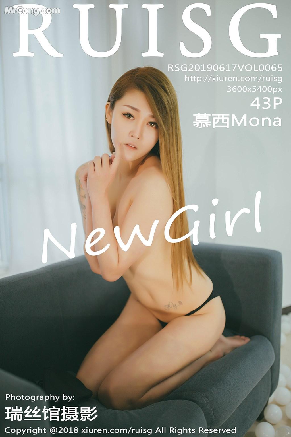 RuiSG Vol.065: 慕西Mona (44 ảnh)