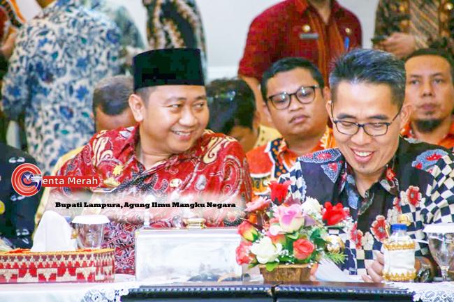 Hadiri Rakor Perdana Gubernur Lampung, Bupati Lampura Sampaikan Harapan Besar