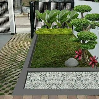 Taman Minimalis Didepan Rumah