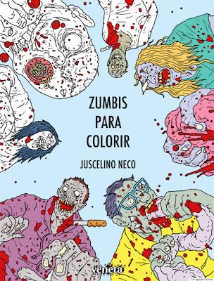 resenha livro de colorir zumbis para colorir por dentro desenhos