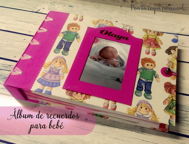 Álbum de recuerdos para bebé