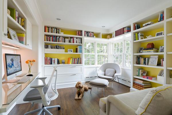 best custom home office desk and file cabinet design ideas