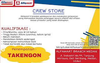 Lowongan Kerja Alfamart Takengon Aceh