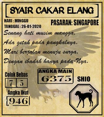 SYAIR SINGAPORE 26-01-2020