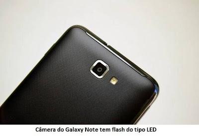 Câmera do Galaxy Note