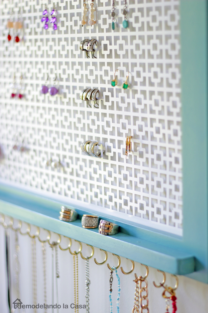 vintage teal and white with pops of gold