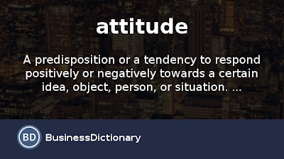 Positive Attitude Meaning In English