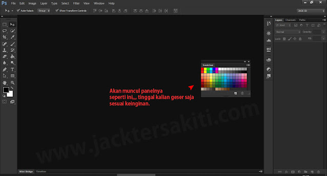 Menambahkan Panel di Adobe Photoshop