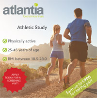 Atlantia Food Clinical Trial looking for runners in Cork