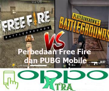 Perbedaan Free Fire dan PUBG Mobile