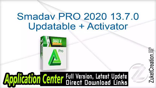 Smadav PRO 2020 13.7.0 Updatable + Activator