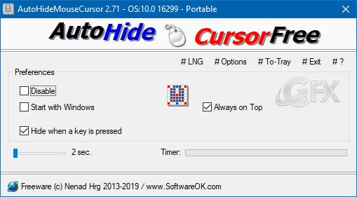 Windows 10'da fare imlecini gizlemenin yolu: