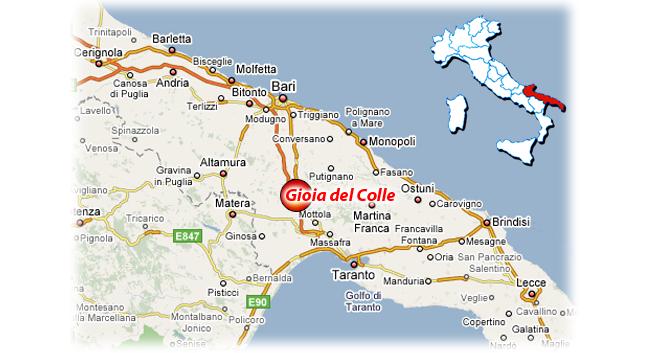 Cartina Puglia Gioia Del Colle.Aquarius Gioia Del Colle Bari Uccide La Moglie A