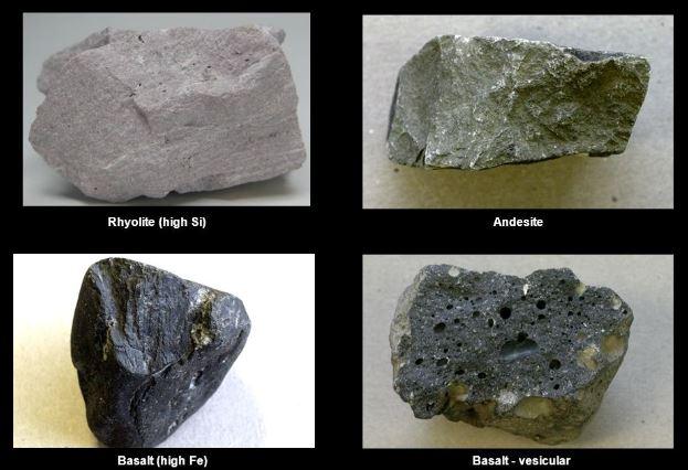 الصخور خصائص