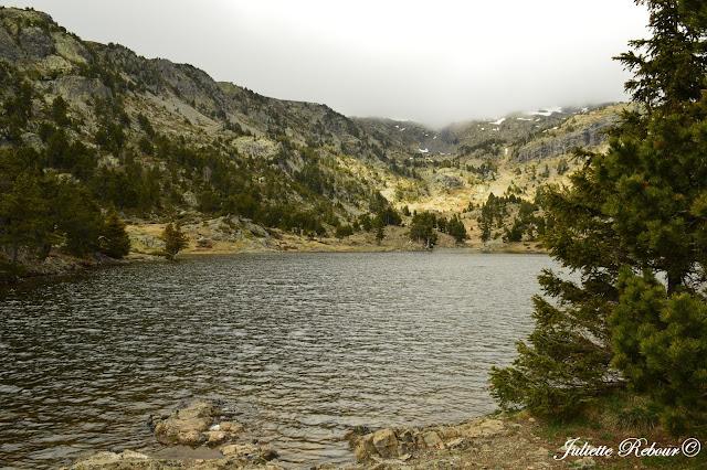 Lac Achard dans le massif de Belledonne