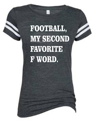 Football My Second Favorite F Word Tee on Etsy