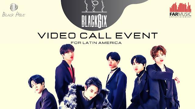BLACK6IX conversará com fãs brasileiros em evento on-line