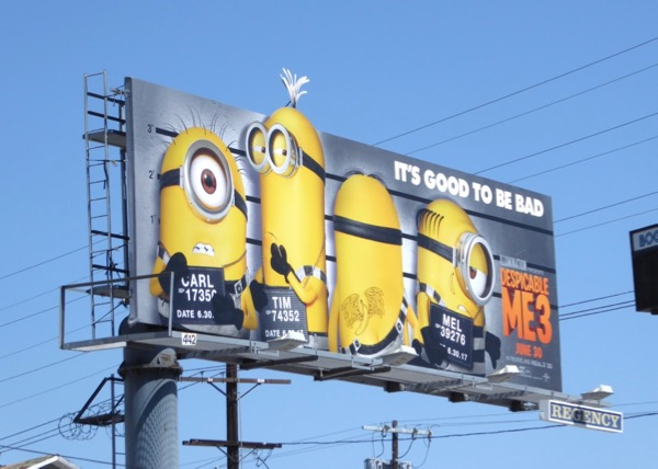 Despicable Me 3 extension Minions billboard