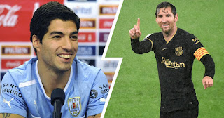 Luis Suarez reveals Messi is set to remain at Barcelona if new board come in.