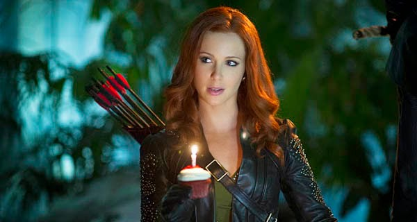 Cupido en Arrow 3x07 - Draw Back Your Bow