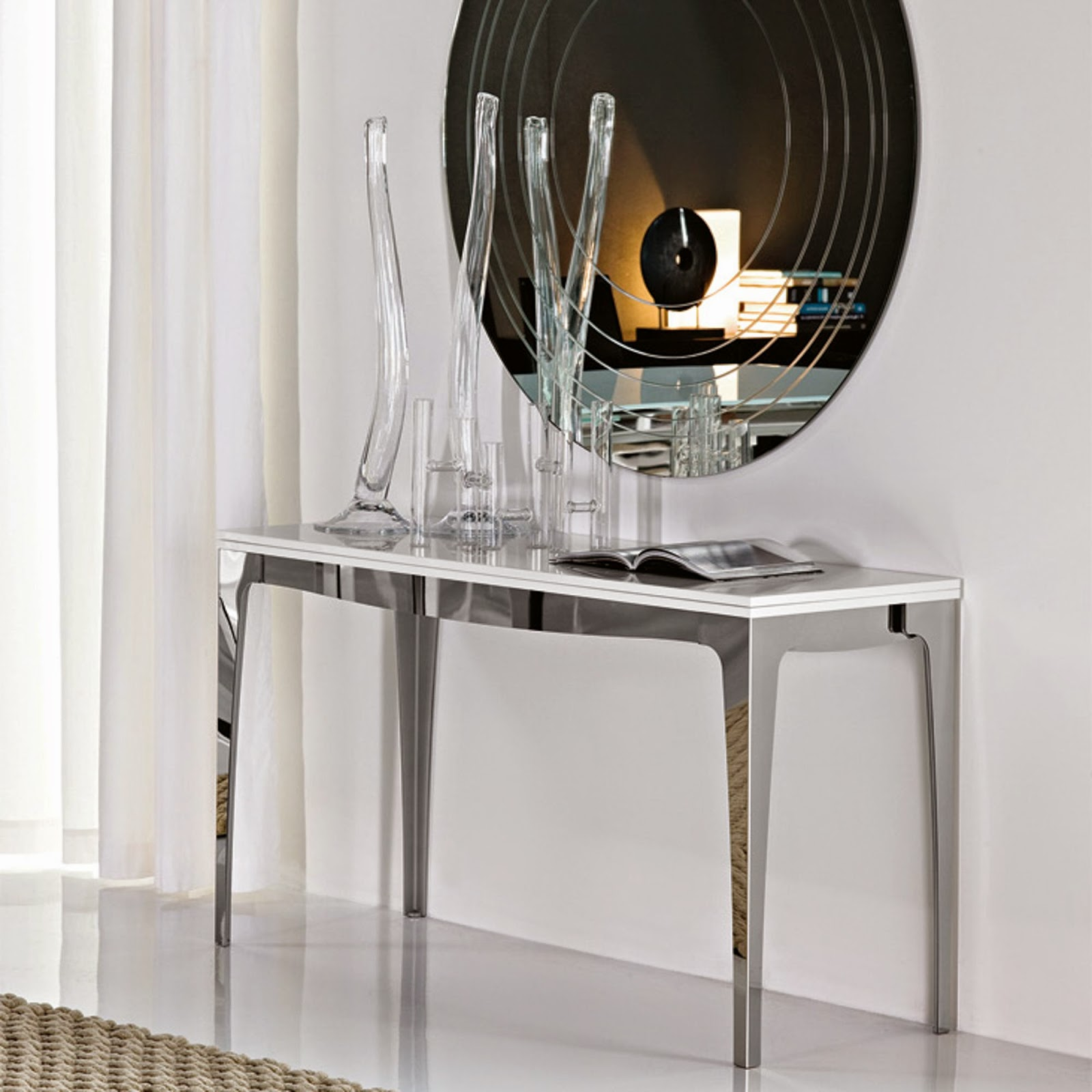 Consolle Portofino Cattelan.Console Table Capri Cattelan Italia Italian Furniture