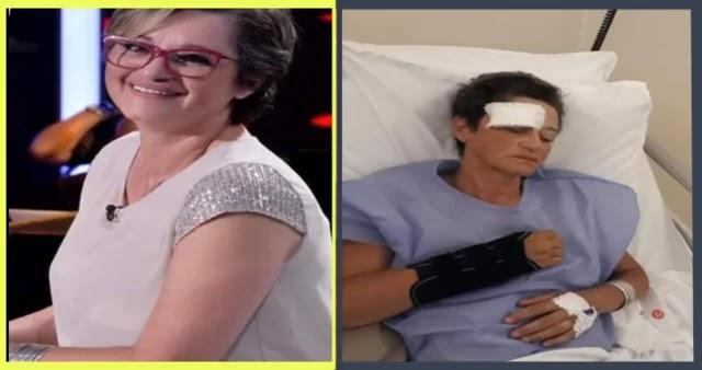 بالصور الممثلة ريم الزريبي تتعرض لحادث مرور !