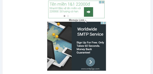 Premium Safelink Template, Source Code Website