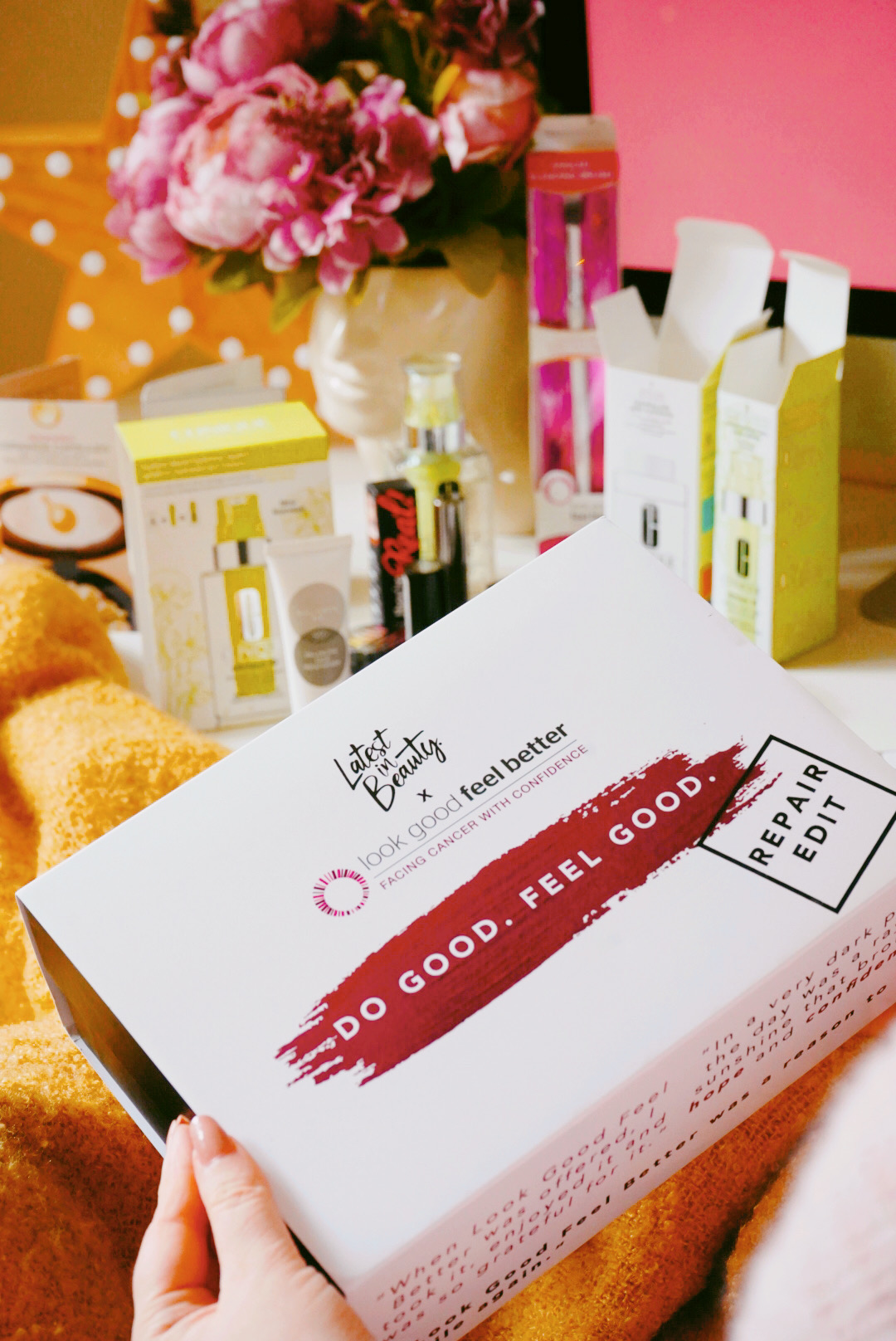 Latest In Beauty - Do Good Feel Good Box
