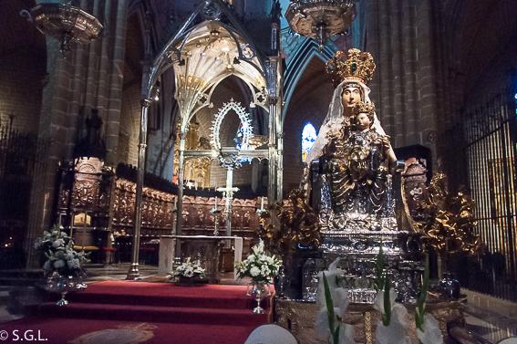 Interior de la Catedral de Santa Maria la Real. Pamplona mucho mas que Sanfermines