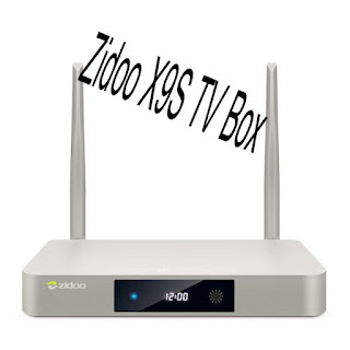 Zidoo X9S TV Box stock firmware v2.1.14 Download Android 6.0