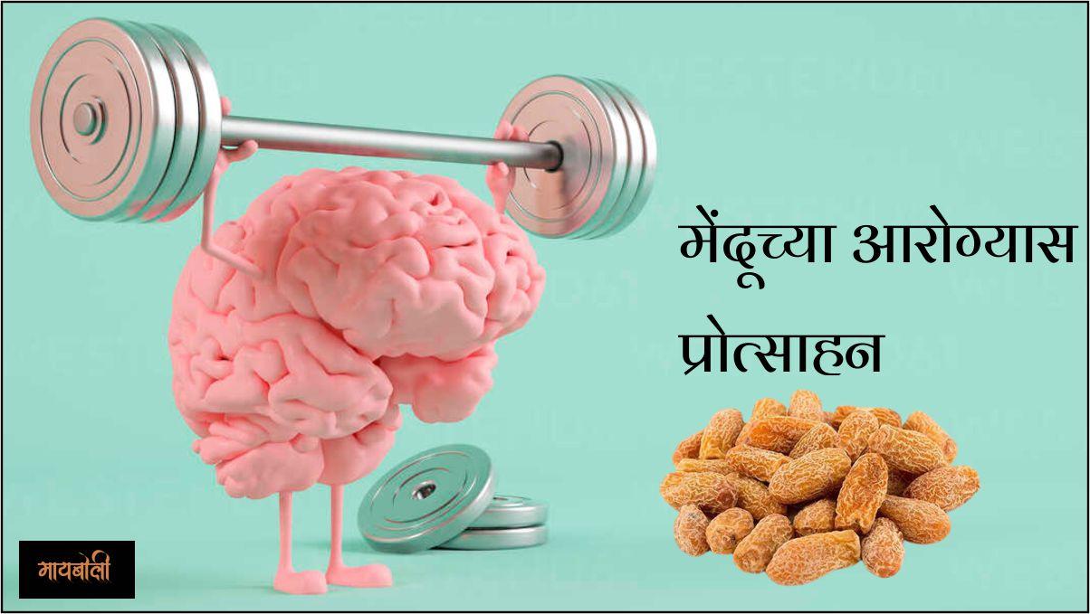 मेंदूच्या आरोग्यास प्रोत्साहन देते
