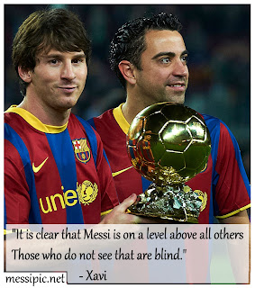 what they said about lionel messi
