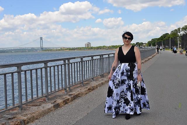 blogerka nad oceanem