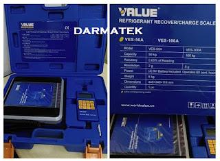 Darmatek Jual Value VES-50A Timbangan Freon/Refrigerant 50kg
