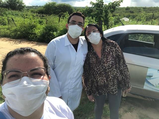Secretaria de Saúde faz visita todas às pessoas que chegaram a Amparo vindas de outras cidades ou Estados