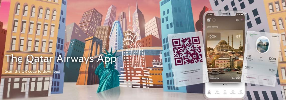 1,000 Free Qatar Airways Privilege Club QMiles when you download their app and login