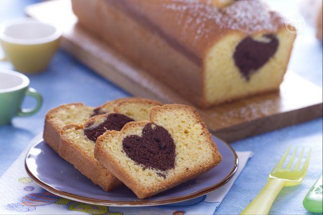 Idea san valentino plumcake soffice al caff con cuore for Bimby ricette dolci